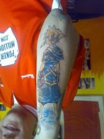 sora tattoo finished by hulfie