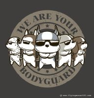 We Are Your Bodyguard by flyingmouse365