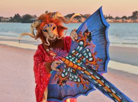 A Dragon and Her Kite by Dream-finder