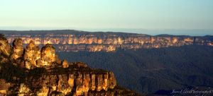 Three Sisters at Dusk by Elvenred