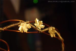 copper/brass diadem by Eraldinir