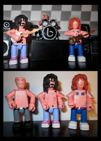 Biffy Clyro Mini-figures. by APlaceForStuff