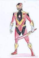 Red Ranger - Fire by Willpower14