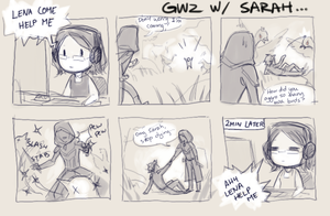 my gw2 beta weekend by justduet