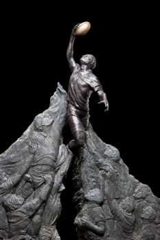 Rugby World Cup Monument Maquette by MadeleineSpencer