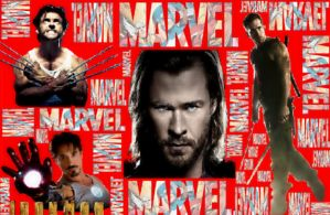 Marvel Superheroes by prussia-the-awehsome