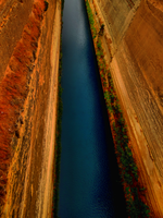 Isthmus of Corinth -1- by IoannisCleary