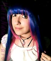 Me with Stocking Anarchy Wig by MaiChanPhotos