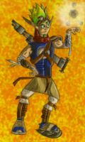 Jak and Daxter by SEBASTIEN11