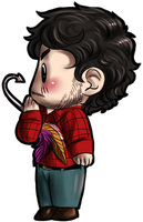Hannibal chibis - Will and lure by FuriarossaAndMimma