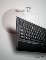 Illuminated Keyboard Ad1 by JustMarDesign