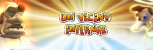 Un vecino infernal (neighbor from hell) by Reptil333