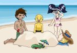 XS - At the Beach by mellie-chan