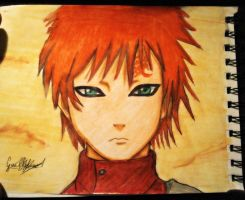 Gaara Shippuden  - Drawing , dibujo by GuillermoAntil
