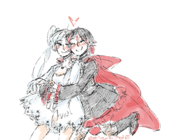 Whiterose Sketch by Sogequeen2550