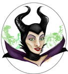 A Commission for cheshirehearts: Maleficent by CharcoalS0001