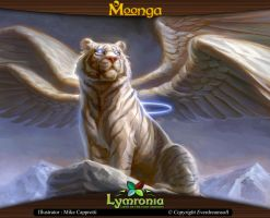 Moonga - Mystical White Tiger by moonga