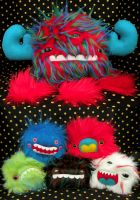 Monsters for Global Artis by loveandasandwich