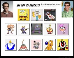 My Top 13 Favorite Tom Kenny Characters - example by Toongirl18