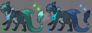Canifeathdra Adoptables by Freaky--Like--Vivi