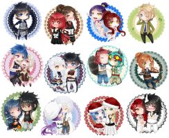 Love Chibi Collection II by Jusace