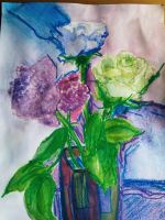 Mes fleurs by 55Hope55
