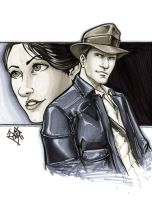 Indiana Jones and Marion by ComfortLove