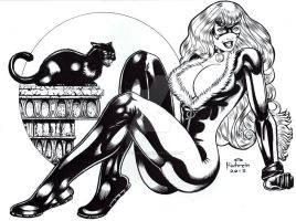 BLACK CAT INK by AHochrein2010