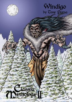 Windigo Clear Card Art - Tony Perna