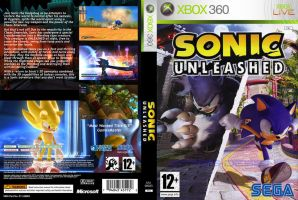Sonic Unleashed Custom Cover by StasisDesigns