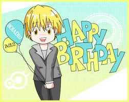 Happy Birthday Rhain! [Chibi Kise] by lotras