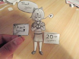 20 Watchers! Thank you! by Dabblr