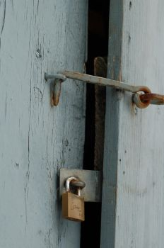 The locked door by StineConstance