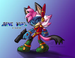 Collab:Zoey Zone Cops by TheDarkShadow123