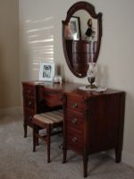 Vintage Wooden Desk 2 by FantasyStock