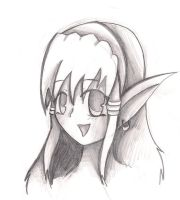 Random Elf girl by NinjaZombie5692