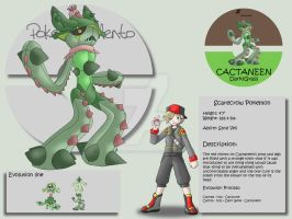 Cactaneen by Pokemon-Mento