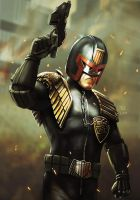 Judge Dredd - I AM THE LAW by Robert-Shane
