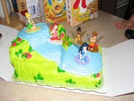 Cake Stock tinker bell by MissyStock