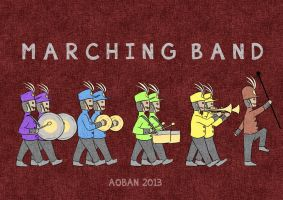 Marching Band by AOBAN