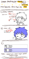 simple coloring hair tutorial with Mouse/track pad by piyoa