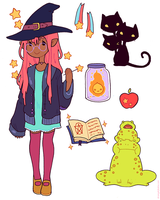 Witching Essentials by strangelykatie