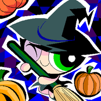 PPG-oekaki witch by thweatted