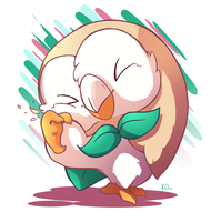 Favorite Grass Type: Rowlet