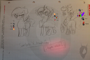 [adopt] SombraXscootaloo foals (1 left) by hylidia