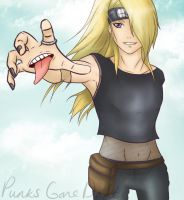 :: Deidara :: Take to the skies by PunksGoneDaft