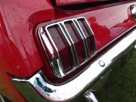 1965 Ford Mustang Tail Light by JS92
