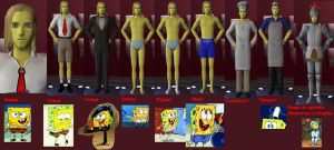 SpongeBob in TS 2 complete by iedasb