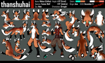 Rikkun Reference Sheet by thanshuhai