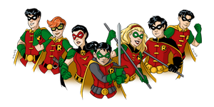 Robins by msciuto
